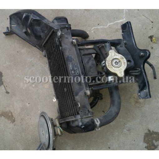 Радиатор, вентилятор, крепление Honda Spacy 125 JF03