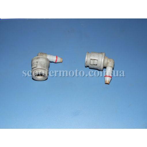 Конектор топливного шланга и крышки форсунки Piaggio Beverly 250-400-500, Aprilia Scarabeo 400-500, Atlantic 500