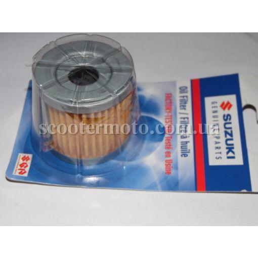 Фильтр масляный Suzuki Vecstar AN 125-150, GS 125, GN 125, GZ 125, DR 125 оригинал