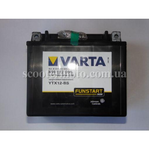 Аккумулятор VARTA YTX12-BS 10 Ампер