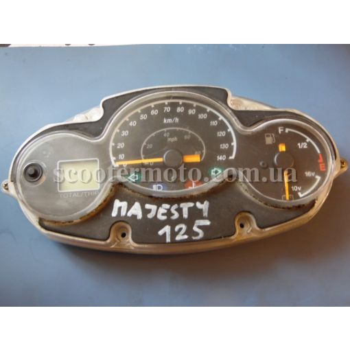Приборная панель Yamaha Majesty 125-150-180, MBK Skyliner 125-150-180, оригинал