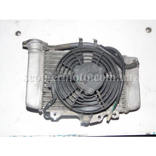 Радиатор, вентилятор радиатора Honda SH 125-150