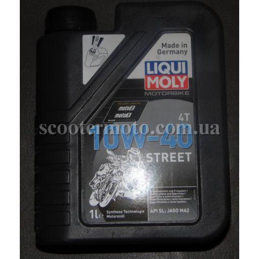 Масло Liqui Moly 10W40 Racing Street 4Т