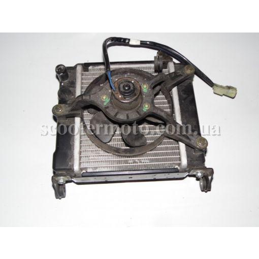 Радиатор, вентилятор Kawasaki J 125-300 SC 125-300